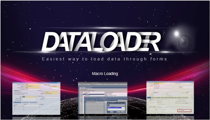 Data Loader - Tool to Load Data in Oracle Apps 11i / R12